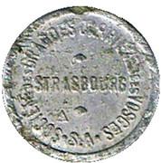 5 Centimes - Société des grandes Carrières des Vosges (Strasbourg) – obverse