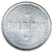 1 Franc - Balbigny – obverse