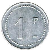 1 Franc - Balbigny – reverse
