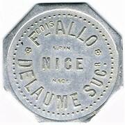 10 Francs - Allo Fcois, Delaume (Nice) – obverse