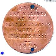 Bon pour 25 Kgs de Charbon - Levallois-Perret [92] – obverse