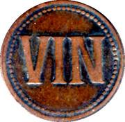 1 Vin (Manufacture de Matières Colorantes; Lyon) – reverse