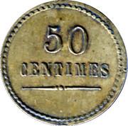 50 Centimes Perret Frères et Olivier - Sain-Bel [69] – reverse