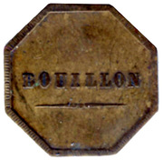 Bouillon - Perret Frères - Sain-Bel [69] – reverse