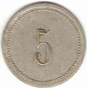5 Francs - MF - Manufacture Française d'Armes et cycles (Saint-Etienne) – reverse