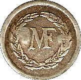 1 Franc - MF - Manufacture Française d'Armes et cycles (Saint-Etienne) – obverse