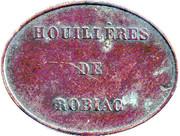 HOUILLERES DE ROBIAC - BESSEGE - [30] – obverse