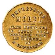 2 Francs (Entreprise Morel - Fort des barres) – reverse