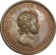 Medal  - Louis XIV (Conquest of Rosas - Catalonia) – obverse