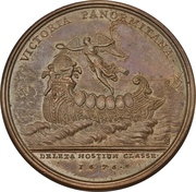 Medal - Louis XIV (Defeat of the Dutch and Spanish fleets at Palermo) – reverse
