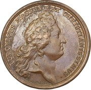 Medal - Louis XIV (Protection of the french ports) – obverse