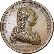 "Medal - Louis XVI (Construction of the bridge ""Pont Louis XVI"" in Paris) – obverse"