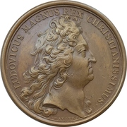 Medal - Louis XIV. (Treasures from the Indies looted from the enemy) – obverse