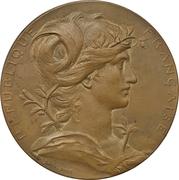 Medal - Exposition Universelle de Paris – obverse