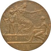 Medal - Exposition Universelle de Paris – reverse