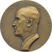Medal - 25th anniversary of the Union Industrielle et Maritime -  obverse