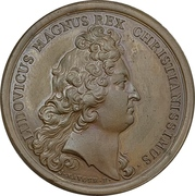 Medal - Louis XIV (Attack on Belle Isle) – obverse