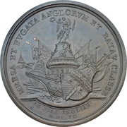 Medal - Naval victory at Beachy Head – reverse