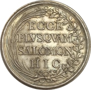 Medal - Death of Gaston d'Orléans – reverse