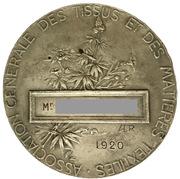 Medal - Association générale des tissus et des matières textiles -  reverse