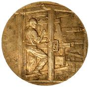 Medal - Union syndicale des tissus, matières textiles et habillement -  obverse