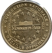 Monnaie de Paris Tourist Token - Val-d'Oise (Abbaye de Royaumont) -  obverse