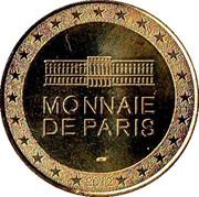Monnaie de Paris Tourist Token - Vauban (1633-1707) -  obverse
