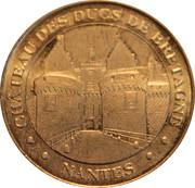 Monnaie de Paris Tourist Token - Nantes (Château des Ducs de Bretagne) -  obverse