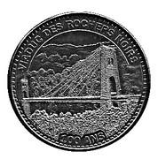 Monnaie de Paris Tourist Token - Viaduc des rochers noirs (100 ans) -  obverse