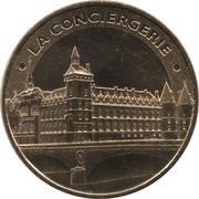 Monnaie de Paris Tourist Token - La Conciergerie -  obverse
