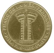 Monnaie de Paris Tourist Token - Palavas-les-Flots (Phare de la Méditerranée) -  obverse