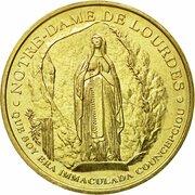 Monnaie de Paris Tourist Token - Lourdes (Les malades - Salvs infirmorvm) -  obverse