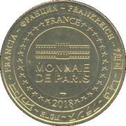 Monnaie de Paris Tourist Token - Les Sables d'Olonne (800 - 1218-2018) -  obverse
