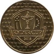 Monnaie de Paris Tourist Token - Ryder Cup 2018 -  obverse