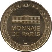 Monnaie de Paris Tourist Token - Johnny Hallyday (Sous la pluie) -  obverse