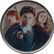 Monnaie de Paris Tourist Token - Harry Potter (Trio) -  obverse