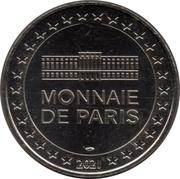 Monnaie de Paris Tourist Token - Harry Potter (Reliques de la Mort) -  reverse