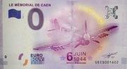 0 euro (Le Mémorial de Caen) – obverse