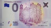 0 euro (Cathédrale de Rodez) – obverse