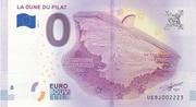 0 euro (La Dune du Pilat) – obverse