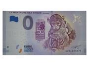0 Euro - La Montagne des Singes – obverse