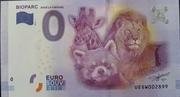 0 Euro DOUÉ LA FONTAINE (Bioparc) – obverse