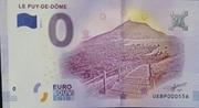0 Euro (LE PUY DE DÔME) – obverse