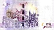 0 EURO DONZENAC CITE MEDIEVALE – reverse