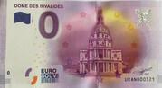 0 euro - Paris - Dôme des Invalides – obverse