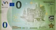 0 euro (Avignon) – obverse