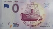0 euro (LA CITE DE LA MER Cherbourg) – obverse
