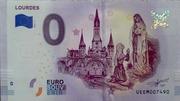 0 euro Lourdes – obverse