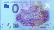 0 euro - Quinson - Musée de Préhistoire des gorges du Verdon – obverse