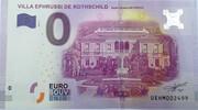 0 euro - Saint Jean Cap-Ferrat (villa Ephrussi de Rothschild) – obverse